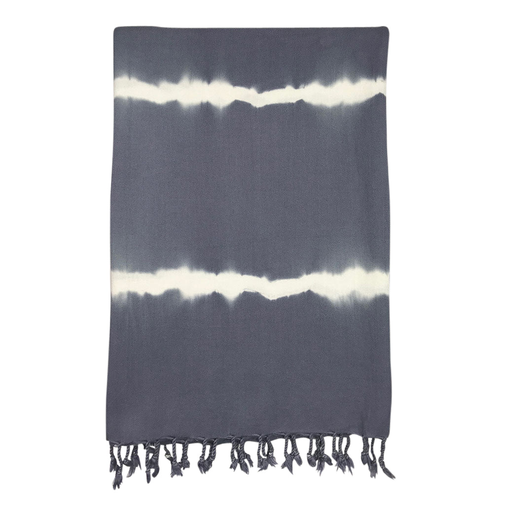 Smoke Tie Dye Turkish Towel