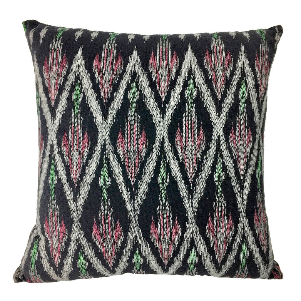 Tribal Ikat Pillow Cover