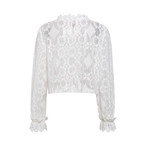 Elegant lace blouse