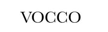 Vocco logo_Vocco's name in black, white background