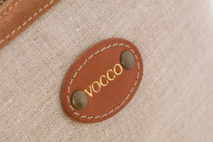 Vocco Toiletry Case Mediterraneo Tobacco - Vocco