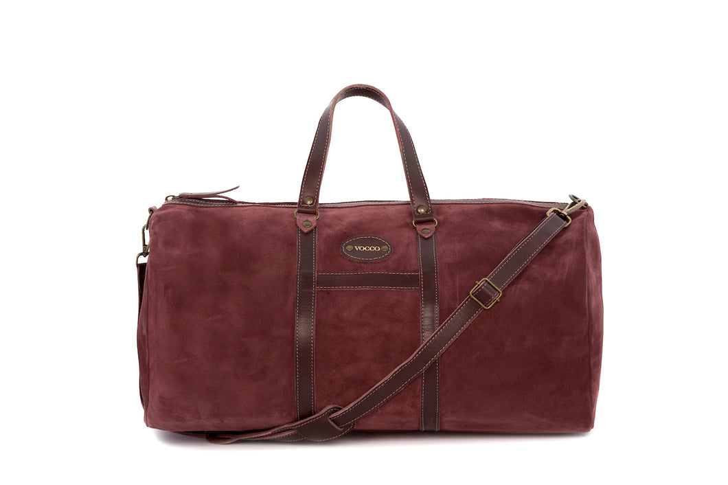 Vocco Weekender Bag Mediterraneo Leather Terracotta - Vocco