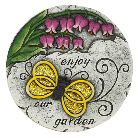 Enjoy Our Garden Stepping Stone - Shop For Decor