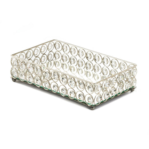 Crystal Tray - Shop For Decor