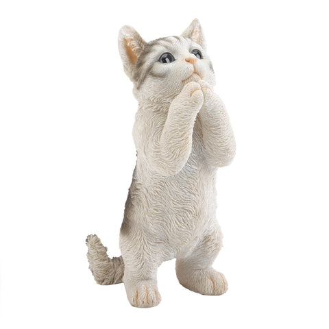 Pretty Please Cat Figurine - Shop For Decor
