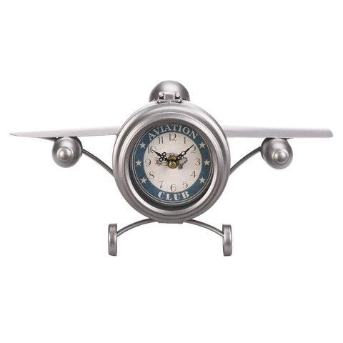 Aviation Club Jet Desk Clock - Shop For Decor
