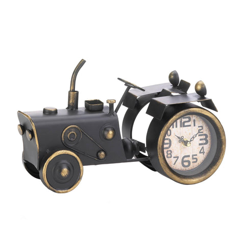 Vintage Tractor Desk Clock - Shop For Decor