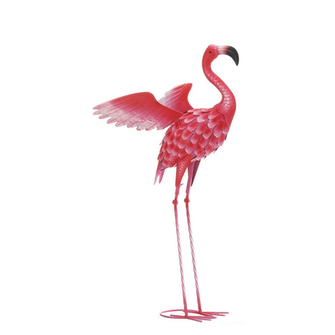 Large Flying Flamingo Statue - Shop For Decor