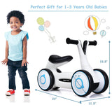 Baby/Toddler Balance Bicycle Ride-On No-Pedal - Blue, Pink or White - Shop For Decor
