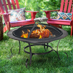 "Outdoor 30"" Camping Fire Pit BBQ /Heather - Shop For Decor"