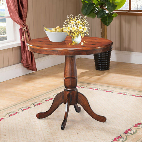 "Round Pedestal Dining 32"" Table - Shop For Decor"