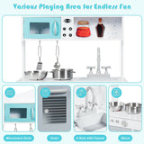 Kids Kitchen Pretend Cooking Food Play Set - Shop For Decor