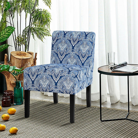 Armless Accent Upholstered Fabric Dining Chair - Shop For Decor