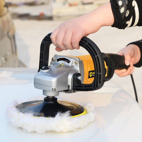 "7"" Variable Speed  Multifunctional Electric Polisher Buffer/Grinder - Shop For Decor"