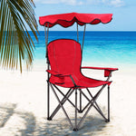 Portable Folding Beach Canopy Chair with Cup Holders - Shop For Decor