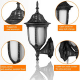Outdoor Garage/ Front Porch Wall Light Set of 4 - Shop For Decor