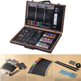 Art Set Drawing 80-Piece Accessories with Wood Case - Shop For Decor