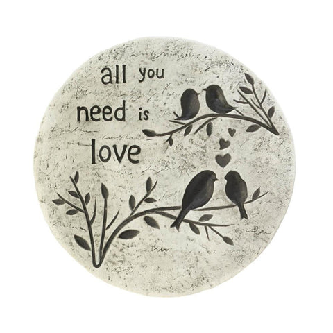 Stepping Stone All You Need Is Love - Shop For Decor