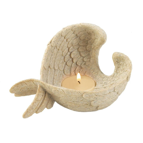 Angel Wings Tealight Holder - Shop For Decor