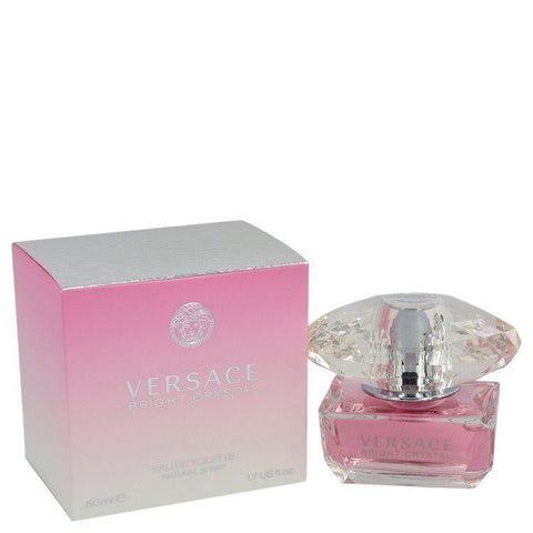 Bright Crystal By Versace Eau De Toilette Spray 1.7 oz For Women - Shop For Decor
