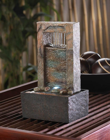 Cascading Water Tabletop Fountain - Shop For Decor
