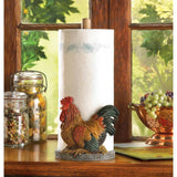 Country Rooster Paper Towel Holder - Shop For Decor