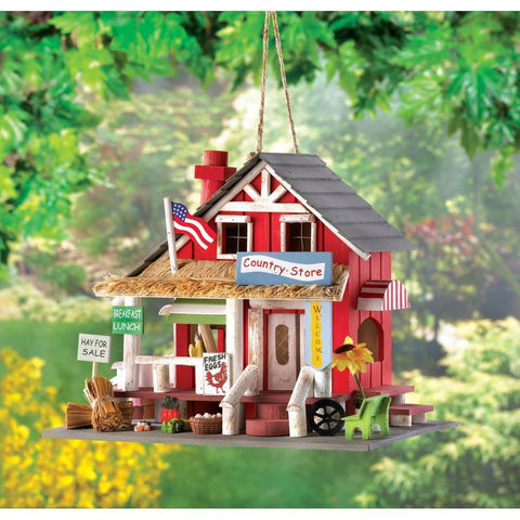 Country Store Birdhouse - Shop For Decor