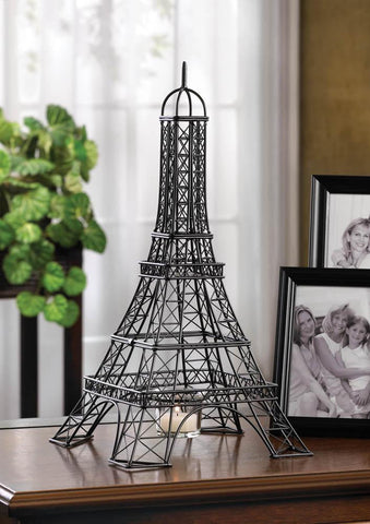 Eiffel Tower Candle Holder - Shop For Decor