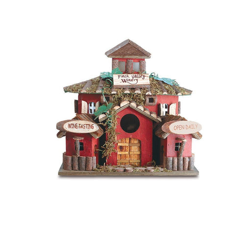 Finch Valley Winery Bird House - Shop For Decor