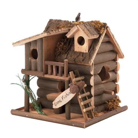 Gone Fishin' Birdhouse - Shop For Decor