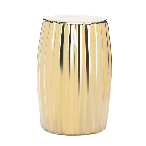 Gold Decorative Stool - Shop For Decor