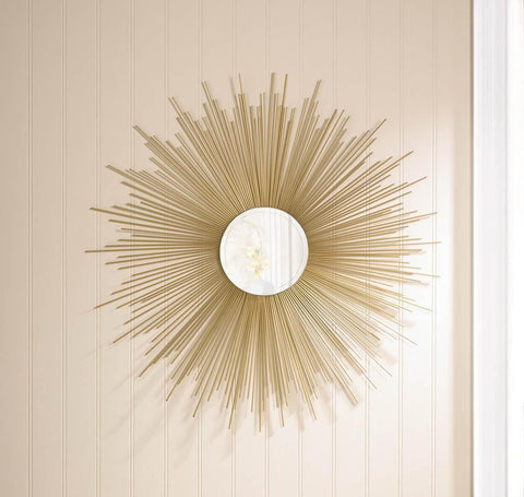 Golden Rays Sunburst Mirror - Shop For Decor
