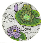 Love My Garden Stepping Stone - Shop For Decor