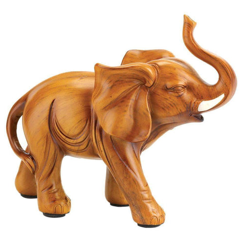 Lucky Elephant Figurine - Shop For Decor
