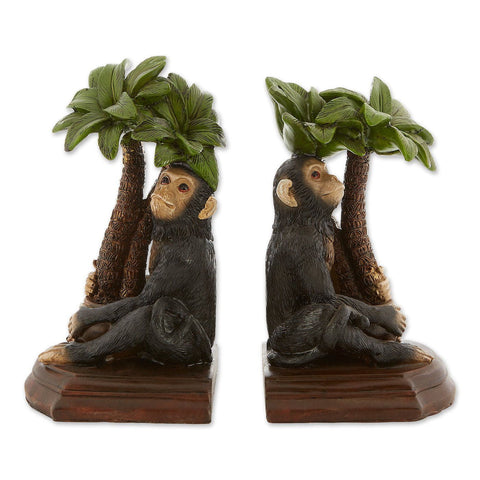 Monkey Bookends - Shop For Decor