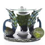 Peacock Plume Oil Warmer - Shop For Decor