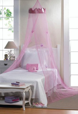 Pink Princess Bed Canopy - Shop For Decor