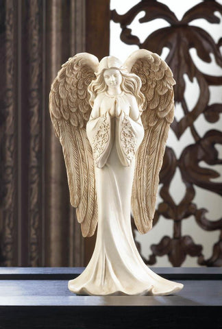 Praying Angel Figurine - Shop For Decor