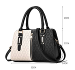 Luxury Handbag PATCHWORK Designer Crossbody Pu Leather Soft Washed Messenger Flap Bag - Shop For Decor