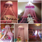 Lace Princess Round Dome Bedding Net, Very Elegant - Shop For Decor