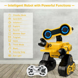 Intelligent Programmable Interactive Remote Control Robot - Green or Yellow - Shop For Decor