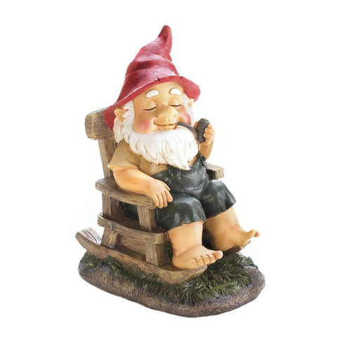 Rocking Chair Gnome - Shop For Decor