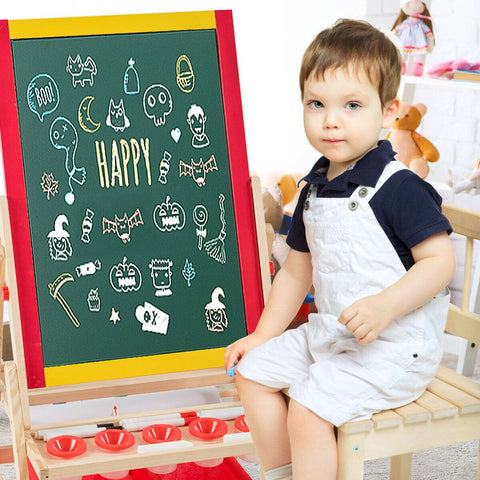 Art Easel Flip-Over Double-Sided For Kids - Shop For Decor