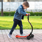 Adjustable Kick Scooter Folding C Shape Anti-Collision For Children -Blue or Red - Shop For Decor