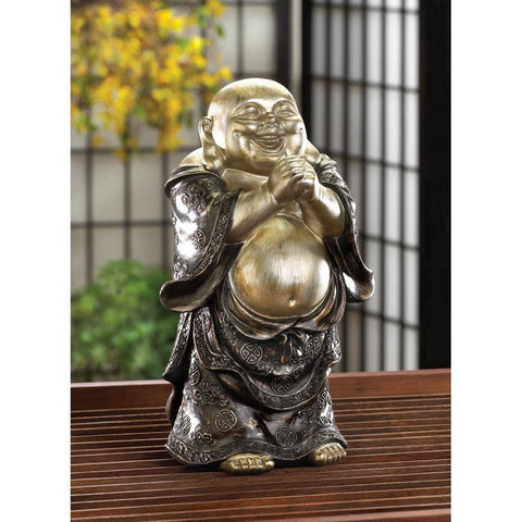 Standing Happy Buddha Figurine - Shop For Decor