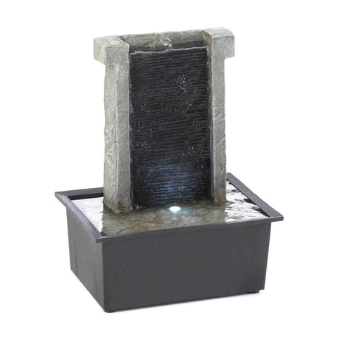 Stone Wall Tabletop Fountain - Shop For Decor