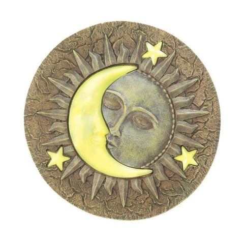 Sun/Moon Glowing Stepping Stone - Shop For Decor