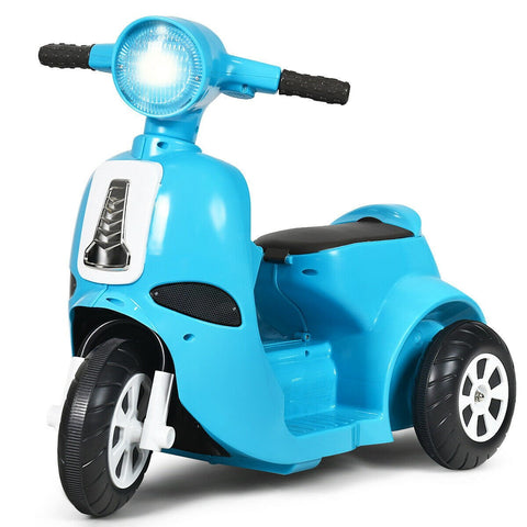 6V Electric Kids Ride on Motorcycle 3 Wheel Scooter - Shop For Decor