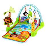 4-in-1 Baby Play Gym Mat with 3 Hanging Educational Toys - Shop For Decor