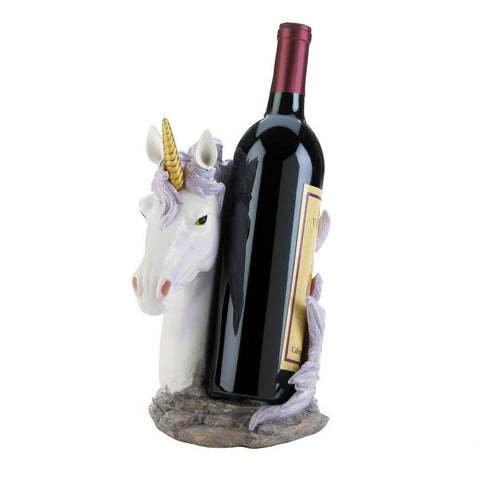 Unicorn Mane Wrapped Wine Bottle Holder - Shop For Decor
